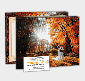 Canvas-Fotoleinwand in vielen Formaten