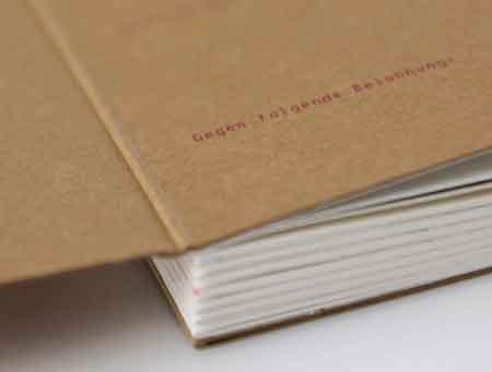 Designbuch Umschlag