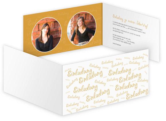 Einladungskarten Zum Geburtstag Drucken Gestalten