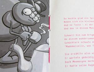 Fadenspinner Design-Buch Innenseite