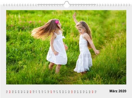 Fotokalender A3 erstellen
