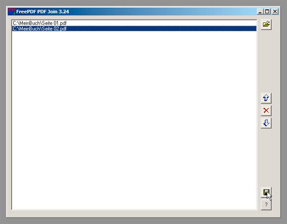 FreePDF XP Join - Schritt 4/6