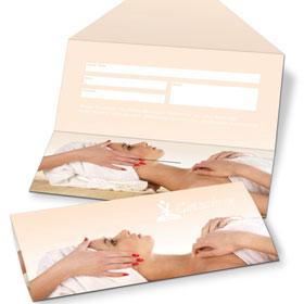 geschenkgutscheine und verpackungen gestalten und drucken. Black Bedroom Furniture Sets. Home Design Ideas