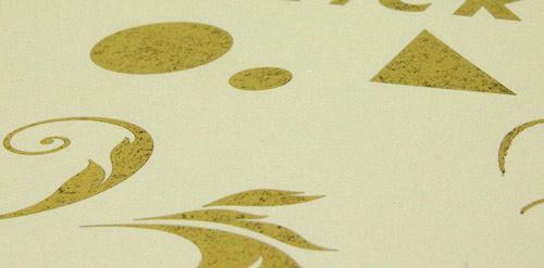 Heißfolienprägung Eigenentwicklung Gold Antik