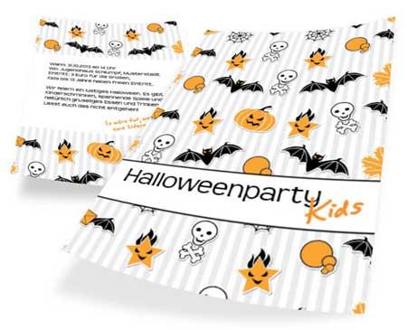 Halloweenflyer für Kids