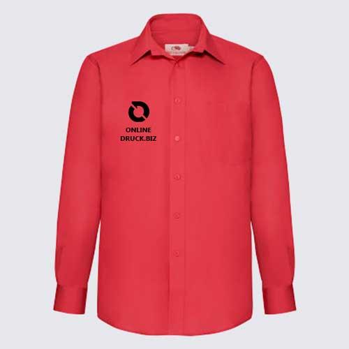 new product 47466 088f7 Hemden » Popelin-Hemden, Fruit of the Loom, ab 5 Stück