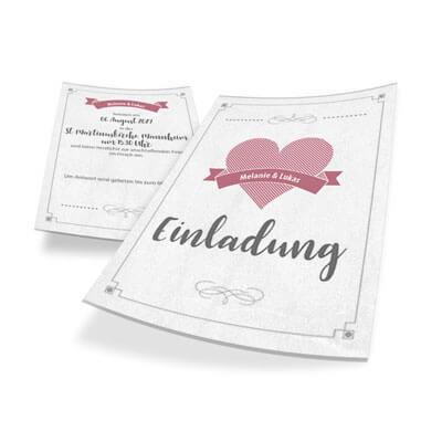 Die Besten Hochzeitskarten Super Gunstig Aus Der Online Druckerei