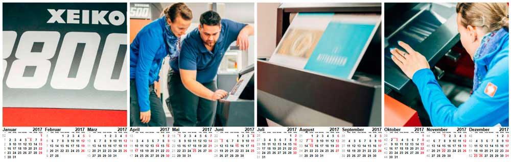 Wandkalender als Jahresplaner