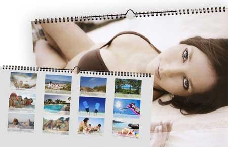 kalender mit Übersichtsblatt