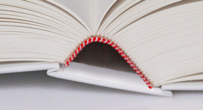 Buch mit Kapitalband