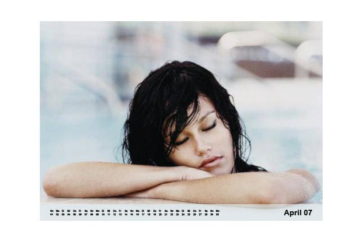 Kalender online gestalten mit ganzseitigen Bildern