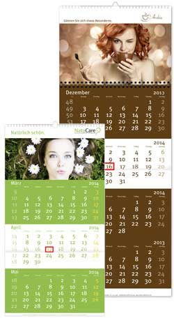 4-Monats-Fotokalender Unternehmen
