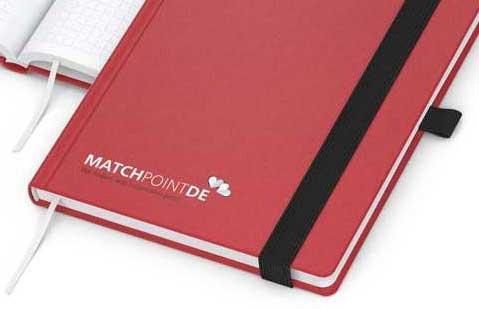 Notizbuch Siebdruck digital