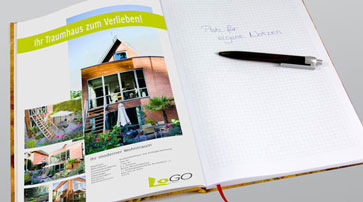 Tagungs-Notizbuch Immobilien