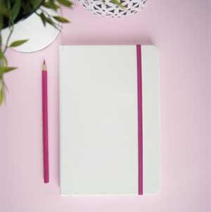 Notizbuch personalisiert mit Namen