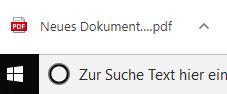 PDF-Druckvorschau