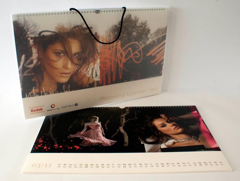 Photokina-Kalender 2011 von Online-Druck und Kodak