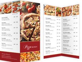 Pizzakarten gestalten
