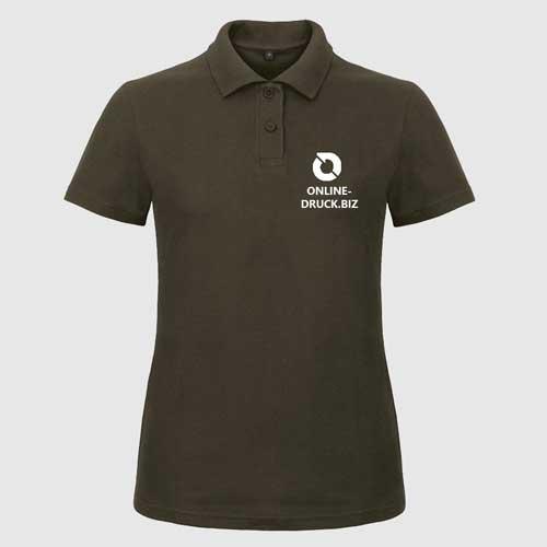 Polo-Shirt B und C Pique Damen