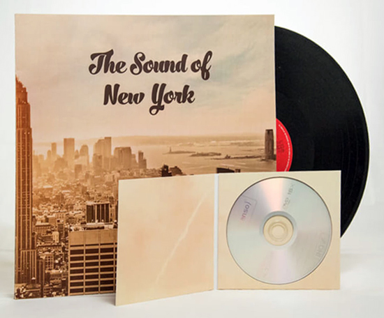 Vinyl LP Hülle Digipack CD Verpackung online drucken