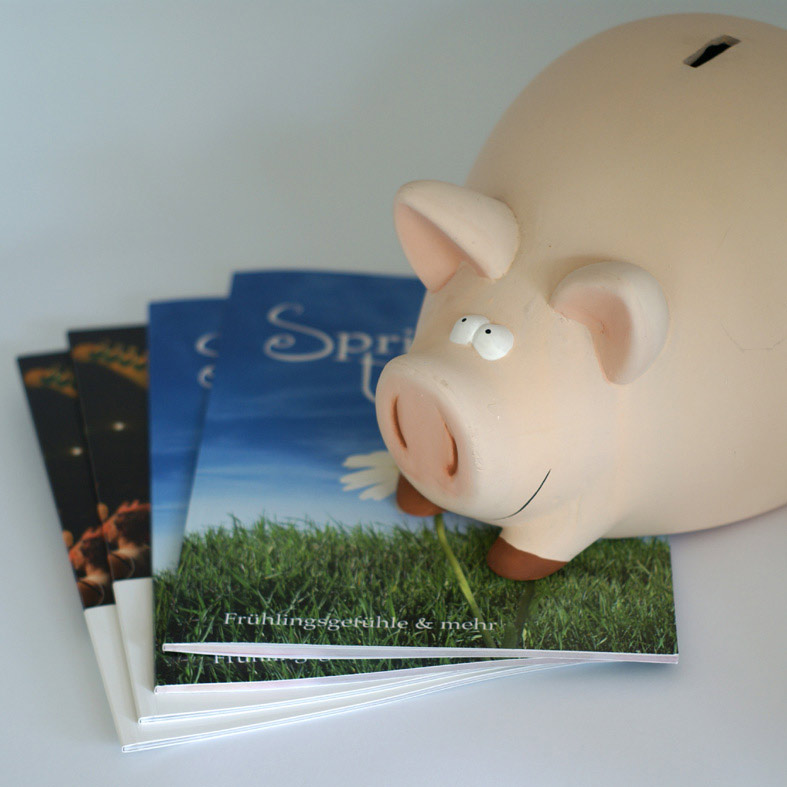 Mit dem SPAR-Buch billig ein Buch drucken