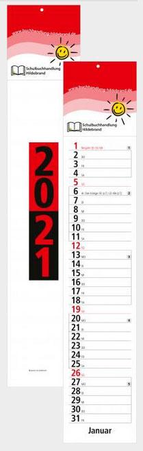 Streifenkalender Trend