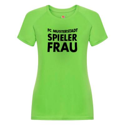 Fruit of the Loom Damen T-Shirt Performance mit eigenem Motiv bedrucken