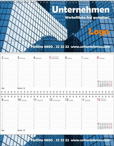 Tischkalender als Terminplaner