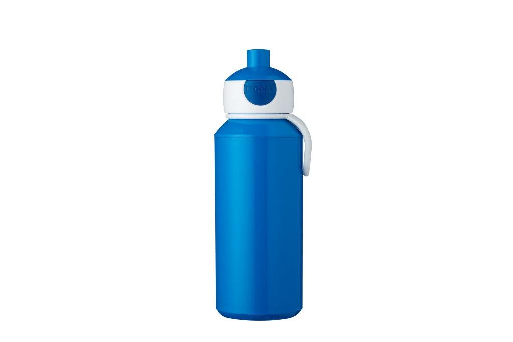 Trinkflasche Blau Campus