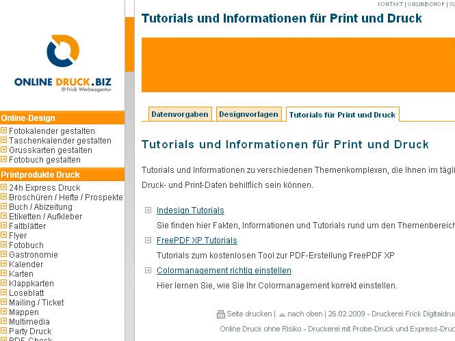 Tutorial Druck für Digitaldruck und Offsetdruck