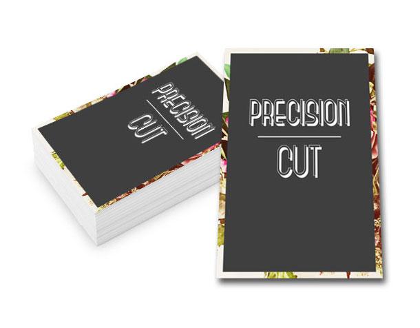 Visitenkarten Visitenkarten Precision Cut 0 0 Mm 85 X 55 Mm