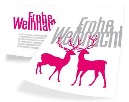 weihnachtskarte-grau-und-pink