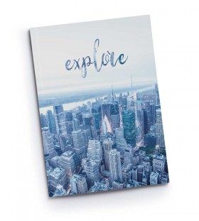 "Notizbuch Design ""Explore"""