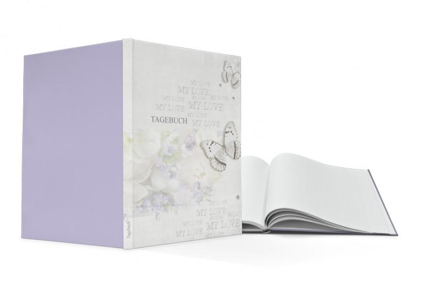 Notizbuch in Hardcoverausstattung drucken lassen