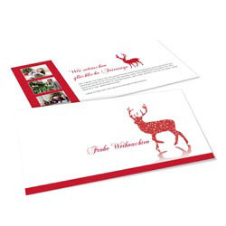 weihnachtskarten f r firmen online gestalten. Black Bedroom Furniture Sets. Home Design Ideas