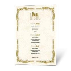 Gastronomie karte din a4 vorlage(4225) zum online-gestalten