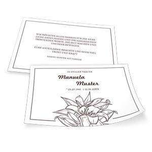 Trauerkarten Vorlagen Fur Einladungen Zu 7
