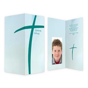 einladungskarten zu kommunion, firmung & konfirmation, Einladung