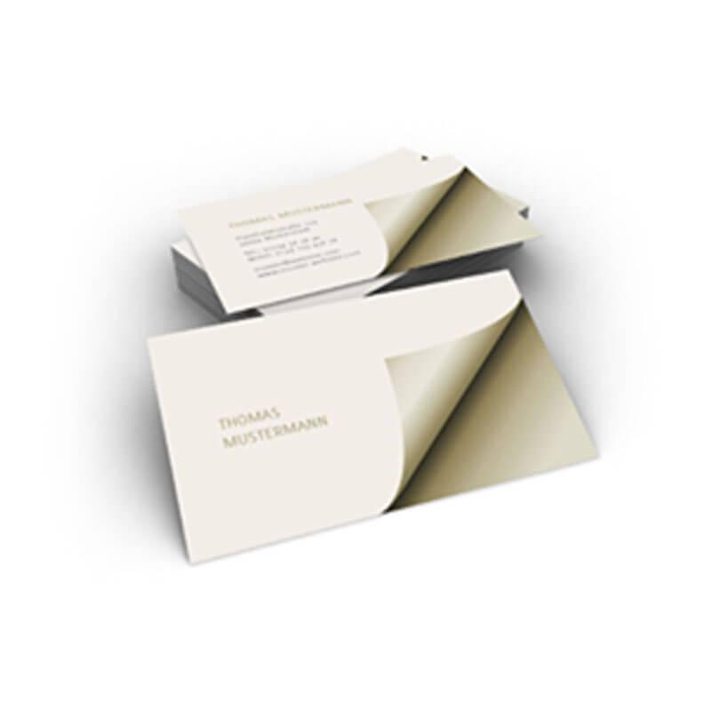 visitenkarte mit kleinem effekt und gro er wirkung hier online gestalten. Black Bedroom Furniture Sets. Home Design Ideas