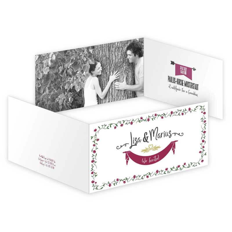 Hochzeitskarten vorlagen drucken