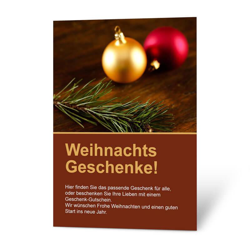Traditionelle Weihnachtsgeschenke.Mit Diesem Plakat Verkaufen Sie Traditionelle Weihnachtsgeschenke