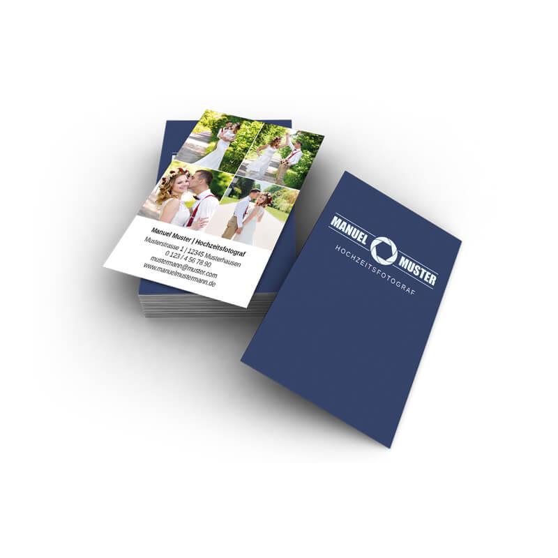 Visitenkarten Bilder Hochformat Online Gestalten