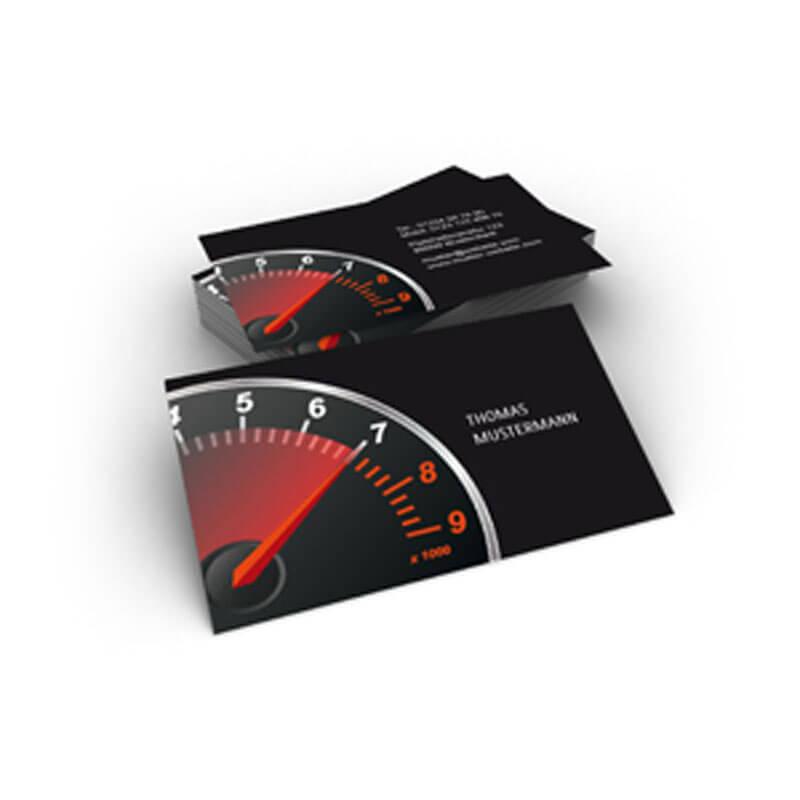 Visitenkarten Für Autowerkstätten Tuning Werkstätten Oder