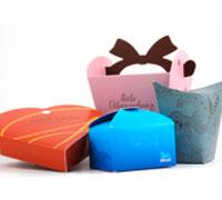 Vielzahl von Geschenkverpackungen