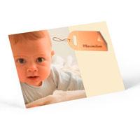 Gestaltungsvorlage Babykarte Online-Gestalter