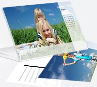 Postkartenkalender in verschiedenen Varianten