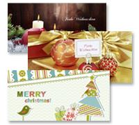 Weihnachtskarten im Online-Designer - Neue Motive