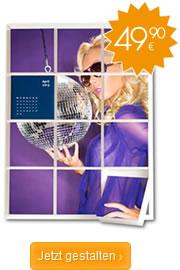 Mosaik-Fotokalender