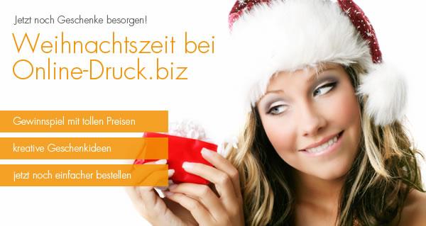 Weihnachtszeit bei Online-Druck.biz