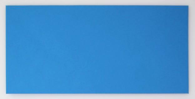 Briefumschlag DinLang Blau Vorderansicht